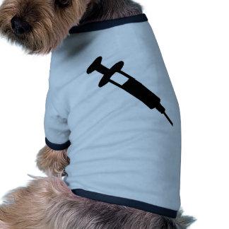 Injection Dog T Shirt