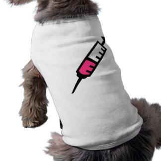 Injection syringe doggie t-shirt