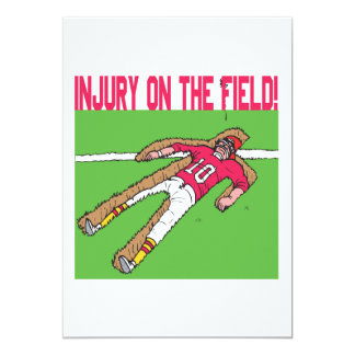 Injury On The Field Card