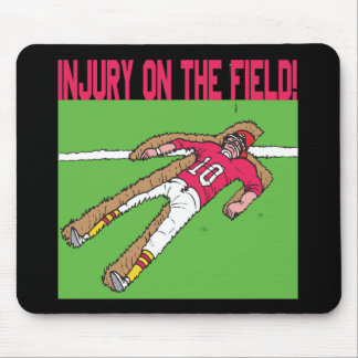 Injury On The Field Mouse Pad