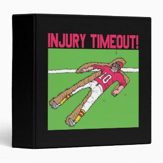 Injury Timeout Binder