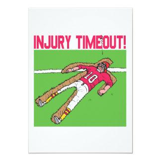 Injury Timeout Card