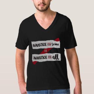 Injustice Black Unisex V-Neck Tee