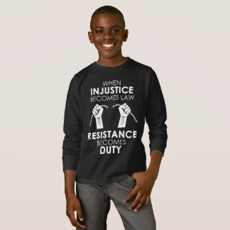 Injustice Boy's Dark Long Sleeve T-Shirt