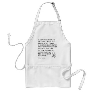 Injustice by Statute Adult Apron