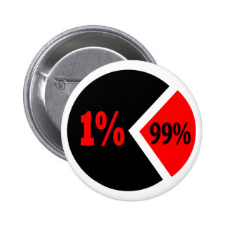 Injustice Chart Pinback Button