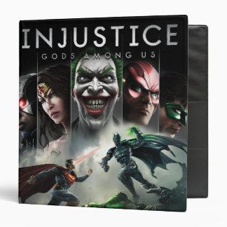 Injustice: Gods Among Us 3 Ring Binder