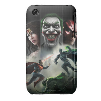 Injustice: Gods Among Us Case-Mate iPhone 3 Cases