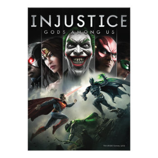 Injustice: Gods Among Us Custom Announcement