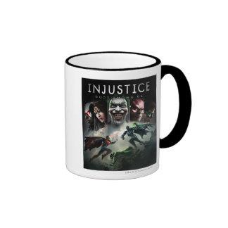 Injustice: Gods Among Us Ringer Mug