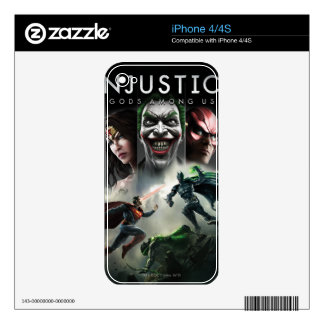 Injustice: Gods Among Us Skins For The iPhone 4