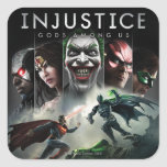 Injusticia: Dioses entre nosotros Pegatina Cuadrada
