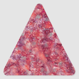 Ink101-9 Marble Background Triangle Sticker