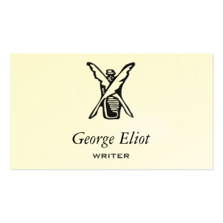 Ink and Quill Double-Sided Standard Business Cards (Pack Of 100)