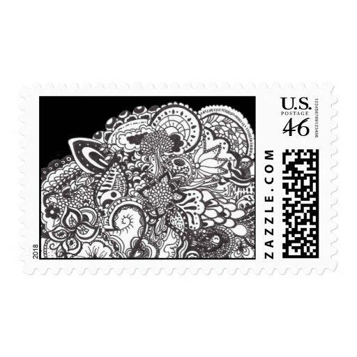 Ink art stamps