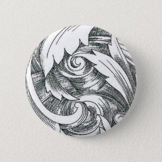 Ink Art Swirl Button