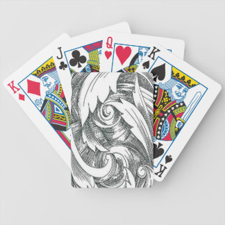 Ink Art Swirl Playing Cards