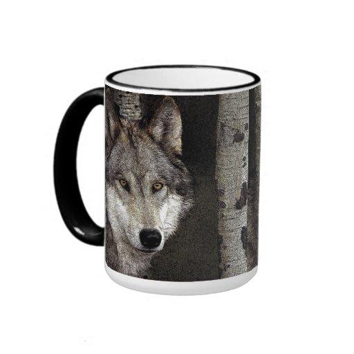 Wolf Coffee Maker Descaler : Ink Art Wolf Coffee Cup Ringer Coffee Mug Zazzle
