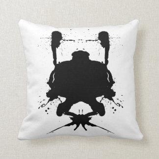 Ink blot - Analyse this - cushion