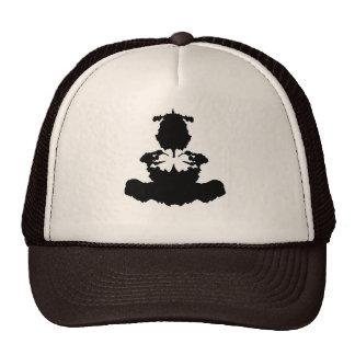 ink blot buddha trucker hat