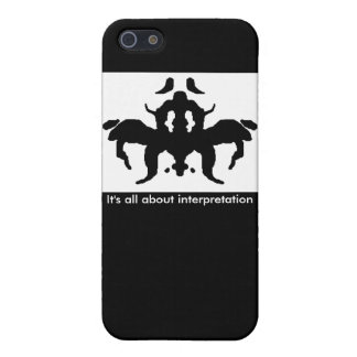 Ink blot case iPhone 5/5S cover