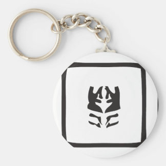 ink blot keychain