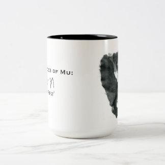 Ink Blot Monkey Mug