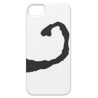 Ink blot smile iPhone 5 cover