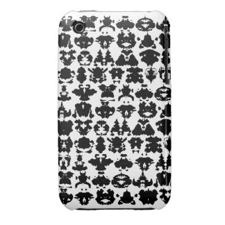 ink blots Case-Mate iPhone 3 cases