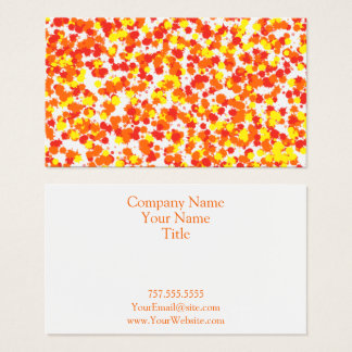 Ink Blotted Background by Shirley Taylor Business Card
