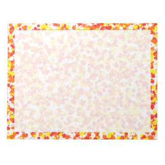 Ink Blotted Background by Shirley Taylor Notepad