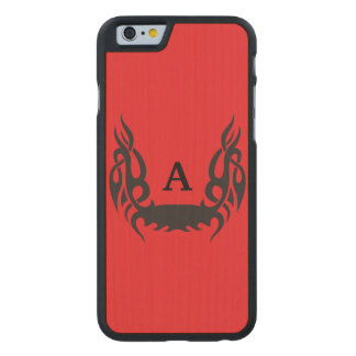 Ink Carved Maple iPhone 6 Slim Case