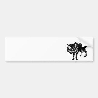 Ink cat bumper sticker