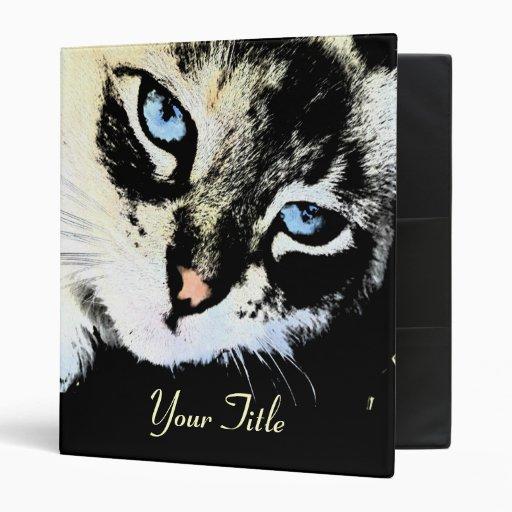 "Ink Cat Customizable 1"" Art Binder"