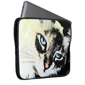 Ink Cat Laptop Sleeve