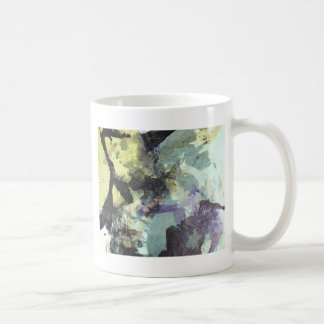 ink collage big coffee cup