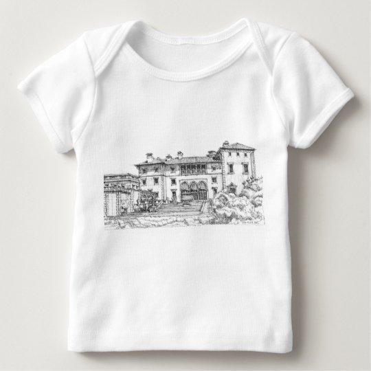 Ink drawing Vizcaya Baby T-Shirt