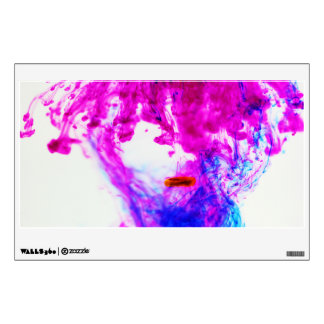 Ink Drop Photography Rectangle Wall Decal
