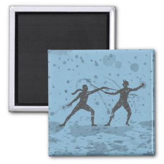 Ink Fencers Duel Magnet