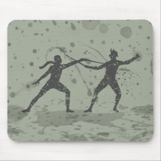 Ink Fencers Mouse Pad