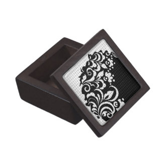 ink flowers jewelry box