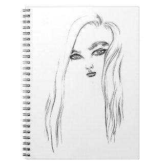 Ink Girl 1 Notebook