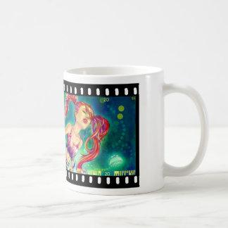 Ink Girl White Mug