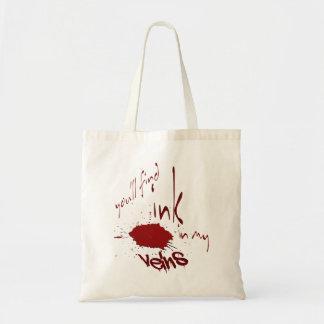 Ink In My Veins Tote Bag