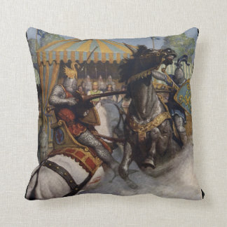 Ink&Iron Heroic Fantasy Pillow