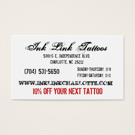 Ink Link Business Card3 Business Card