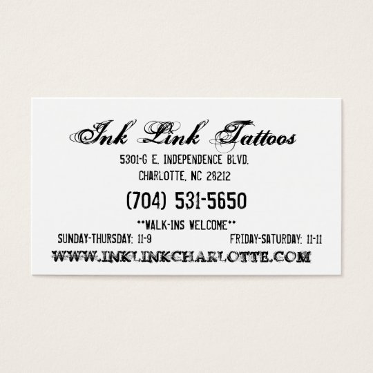 Ink Link Business Card6 Business Card
