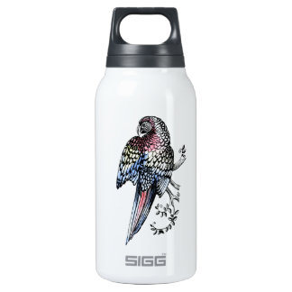 Ink macaw Parrot Insulated Water Bottle