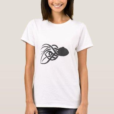 Beach Themed Ink Octopus T-Shirt