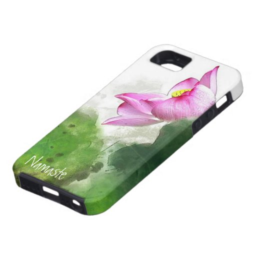Ink Painting Morning Dew Lotus iPhone 5 Case